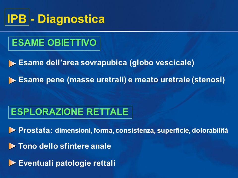 IPB - Diagnostica ESAME OBIETTIVO ESPLORAZIONE RETTALE