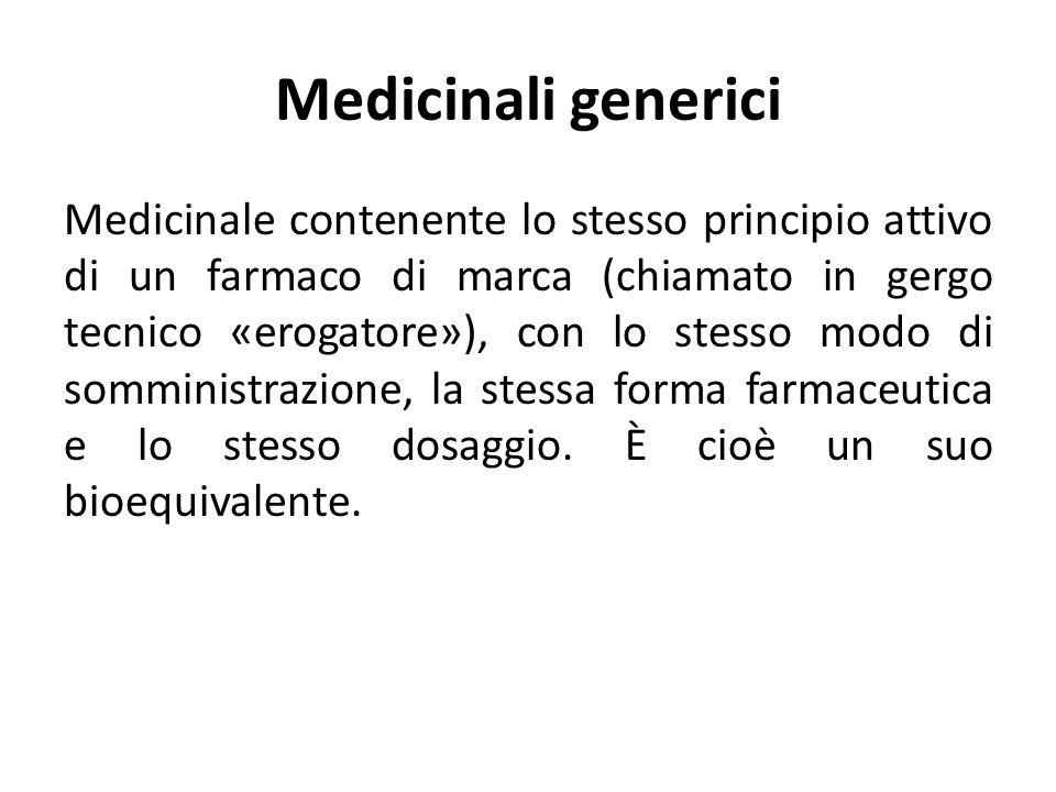Medicinali generici