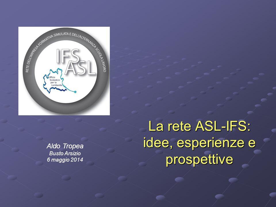 La rete ASL-IFS: idee, esperienze e prospettive