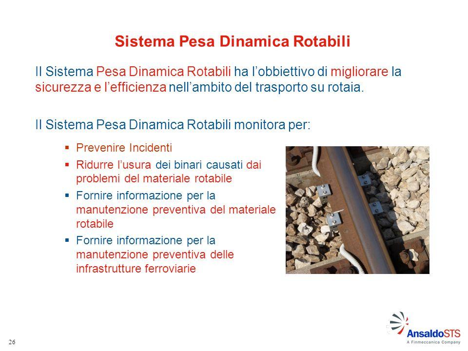 Sistema Pesa Dinamica Rotabili