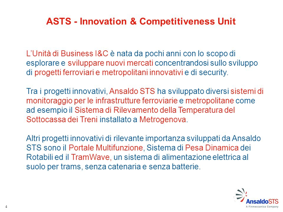 ASTS - Innovation & Competitiveness Unit