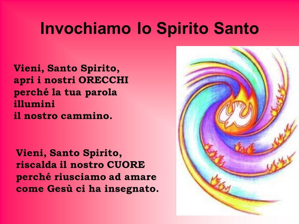 Invochiamo lo Spirito Santo
