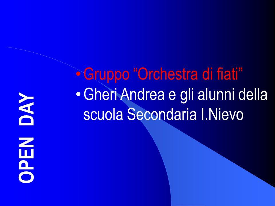 OPEN DAY Gruppo Orchestra di fiati