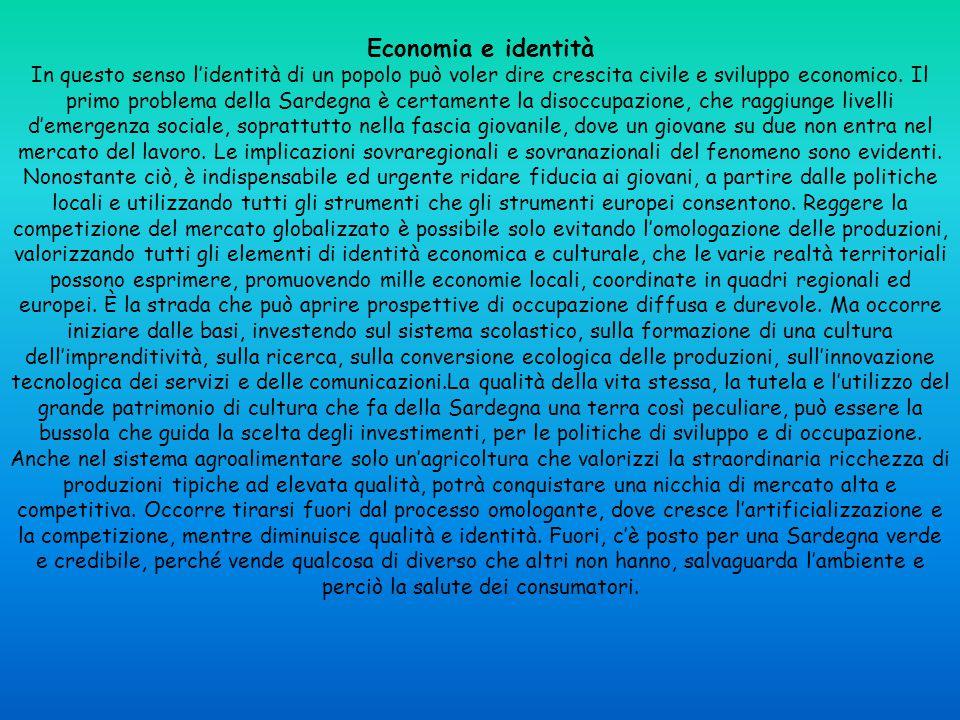Economia e identità