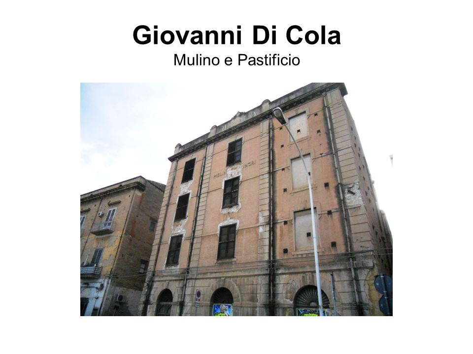 Giovanni Di Cola Mulino e Pastificio