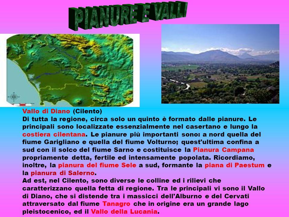 PIANURE E VALLI Vallo di Diano (Cilento)