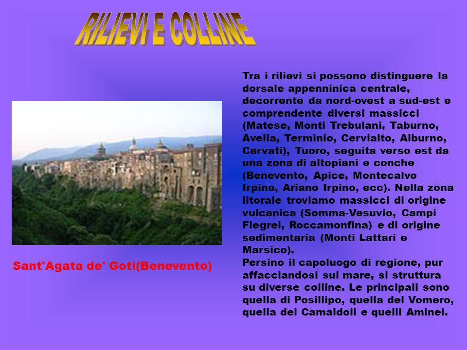 RILIEVI E COLLINE Sant Agata de Goti(Benevento)
