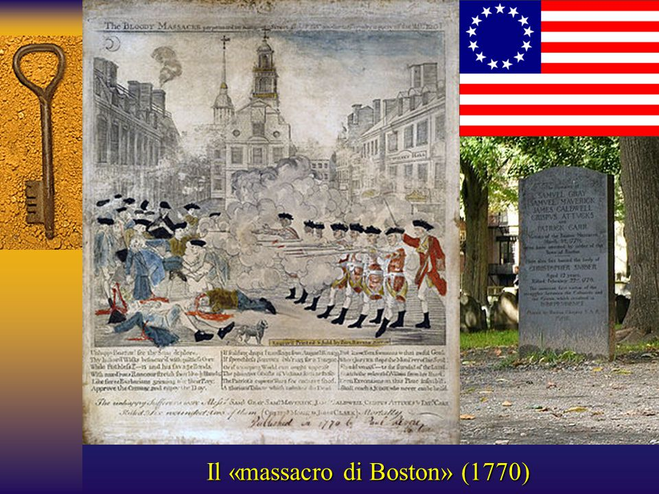 Il «massacro di Boston» (1770)