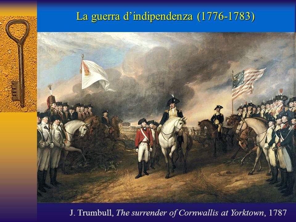 La guerra d'indipendenza (1776-1783)