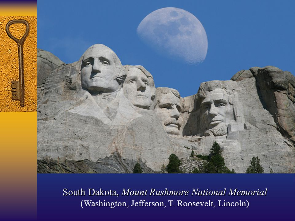 South Dakota, Mount Rushmore National Memorial