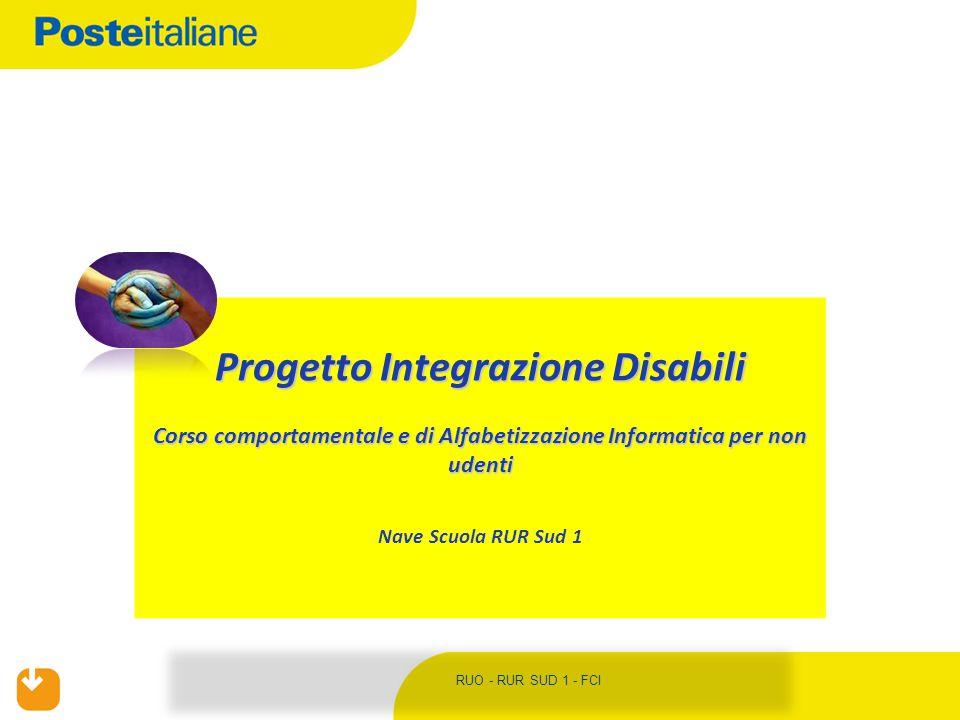 Progetto Integrazione Disabili