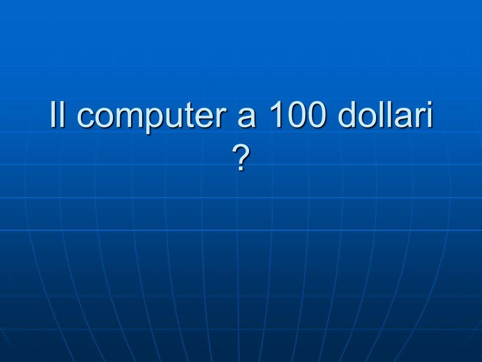 Il computer a 100 dollari