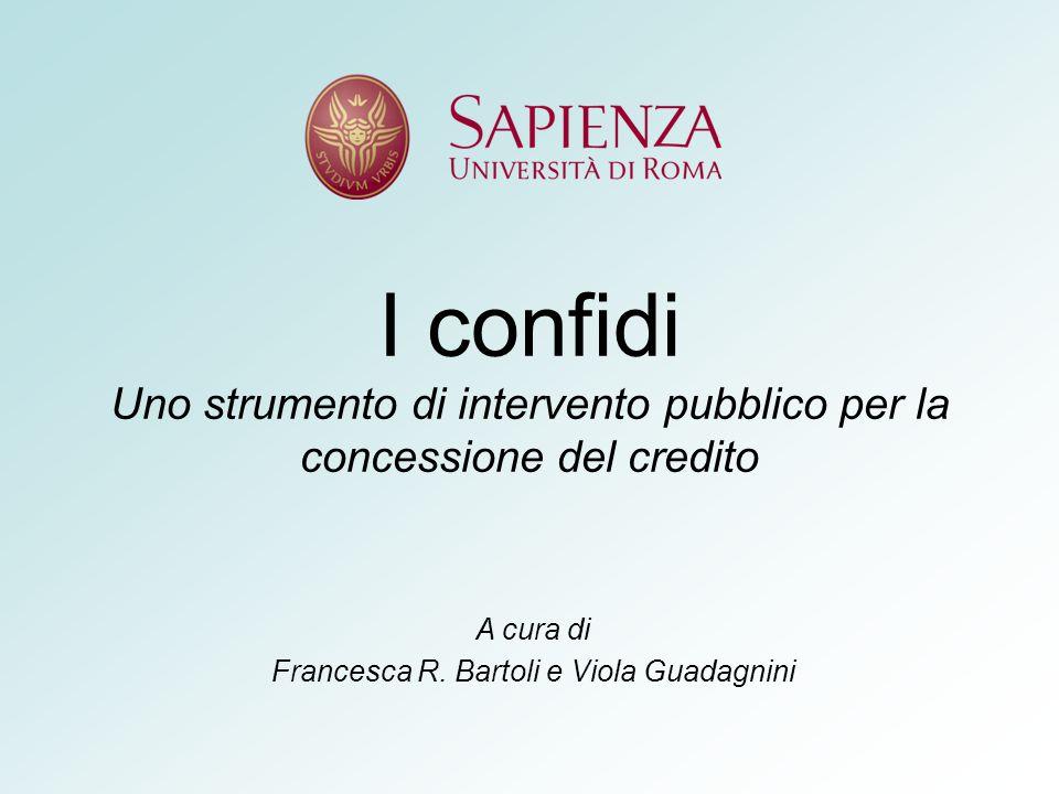 A cura di Francesca R. Bartoli e Viola Guadagnini