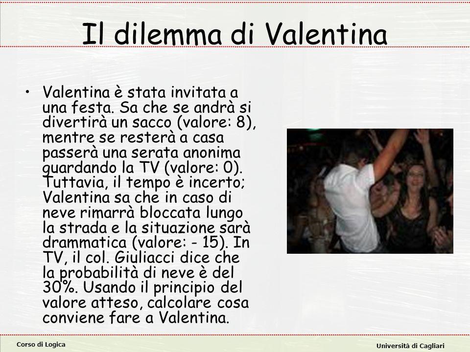 Il dilemma di Valentina