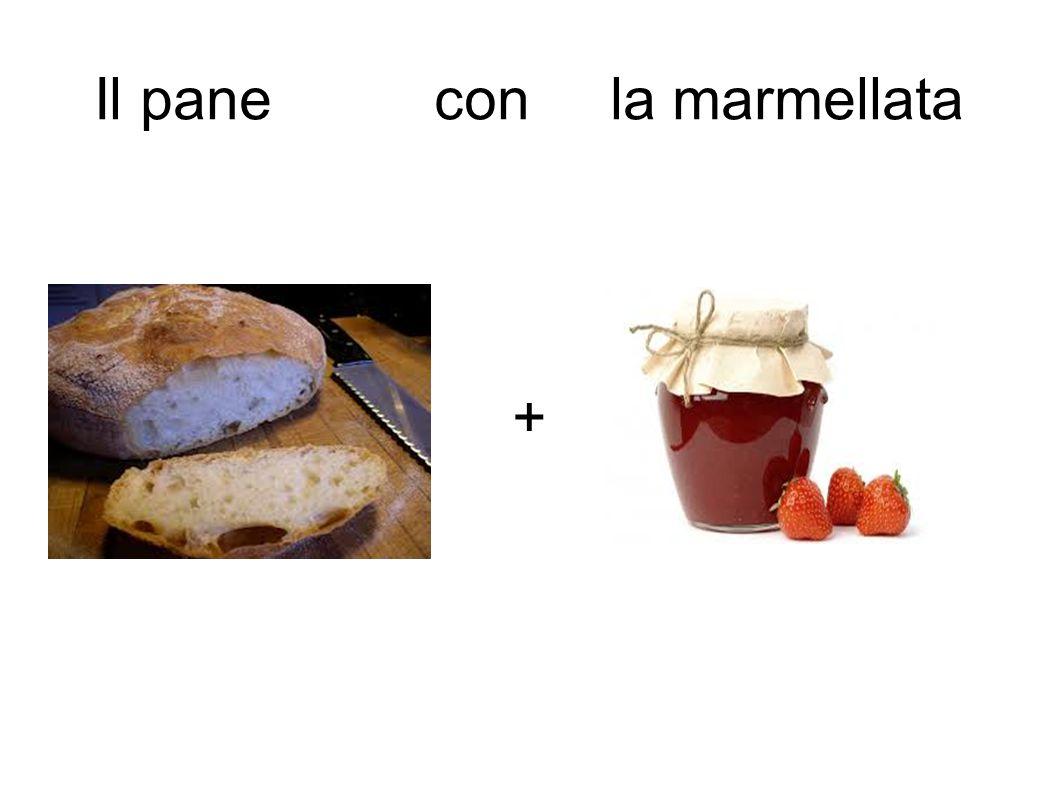 Il pane con la marmellata