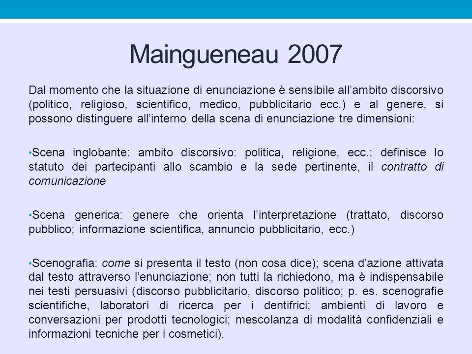 Maingueneau 2007