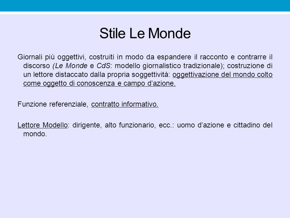 Stile Le Monde