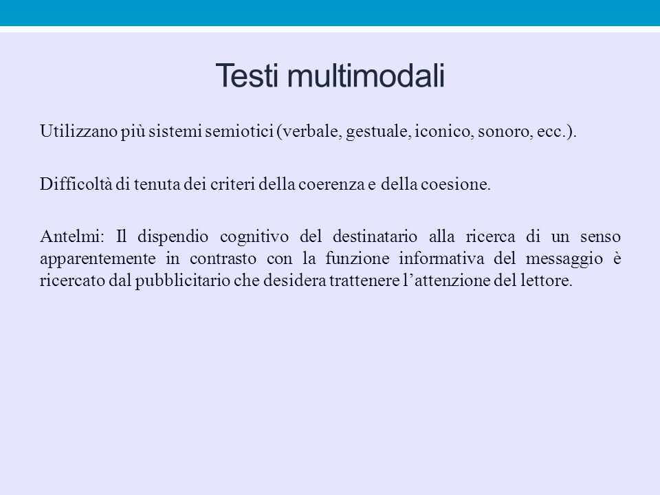 Testi multimodali