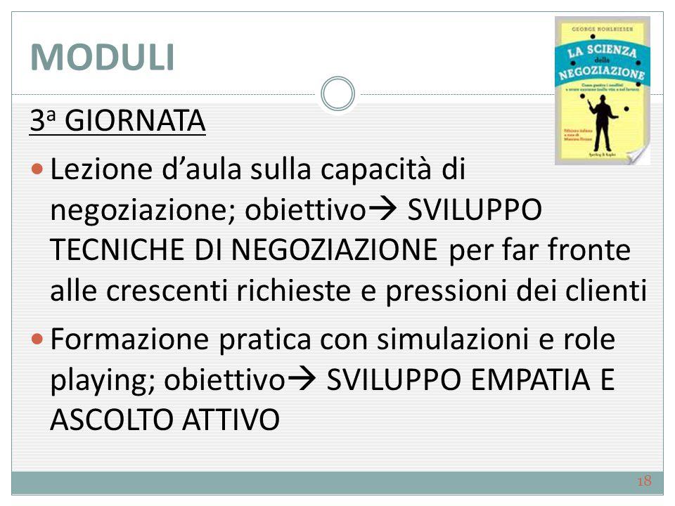 MODULI 3a GIORNATA.