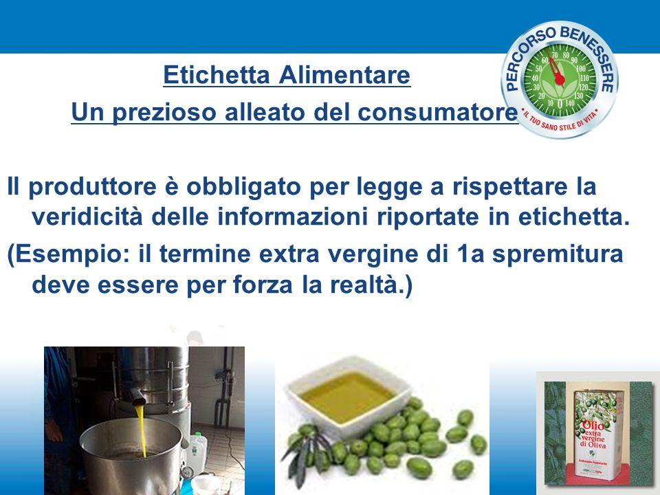 Etichetta Alimentare Un prezioso alleato del consumatore.