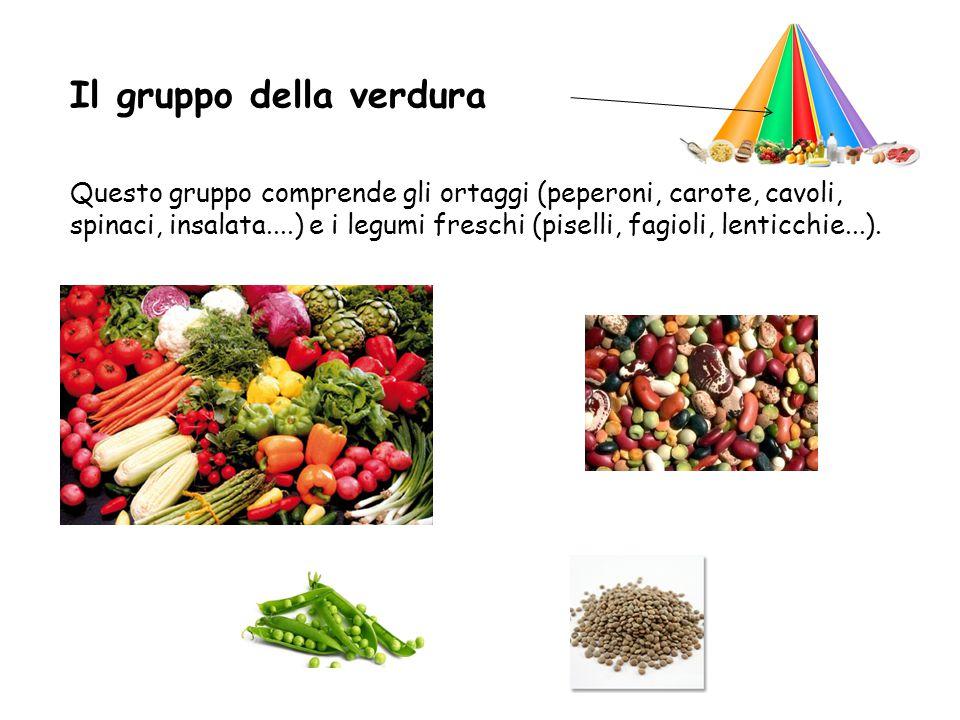 Il gruppo della verdura