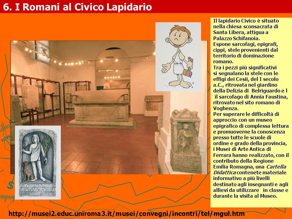 6. I Romani al Civico Lapidario