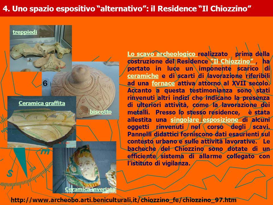 4. Uno spazio espositivo alternativo : il Residence Il Chiozzino
