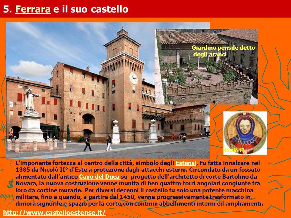 5. Ferrara e il suo castello