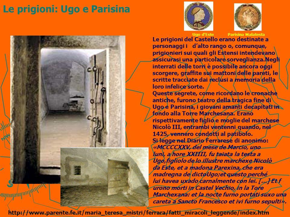 Le prigioni: Ugo e Parisina