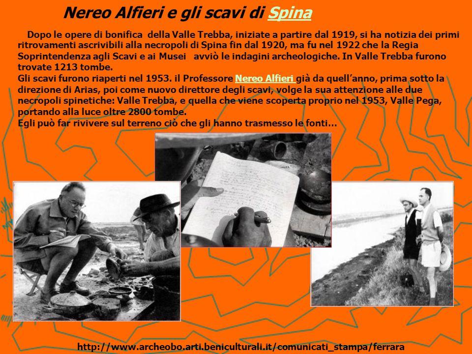 Nereo Alfieri e gli scavi di Spina