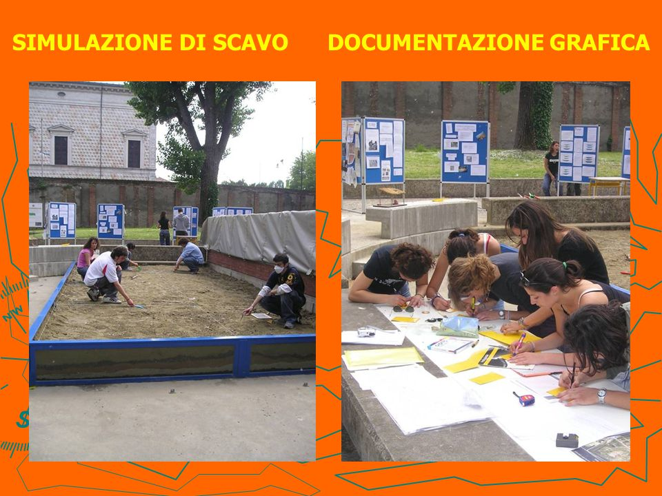 SIMULAZIONE DI SCAVO DOCUMENTAZIONE GRAFICA