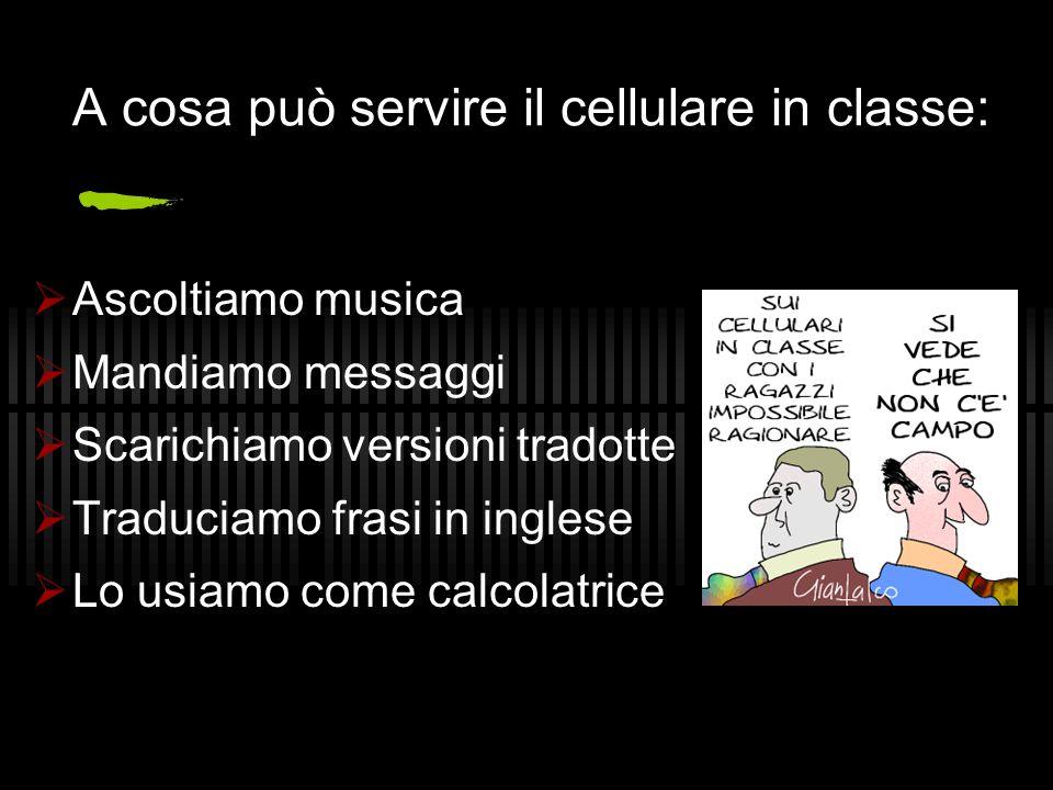 A cosa può servire il cellulare in classe: