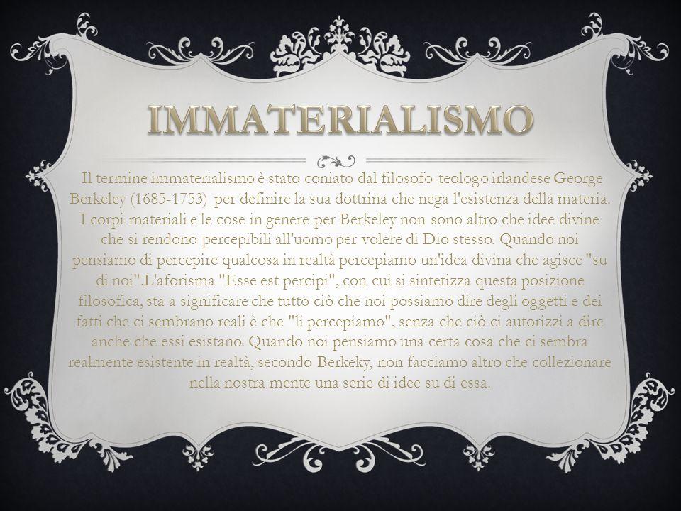 IMMATERIALISMO