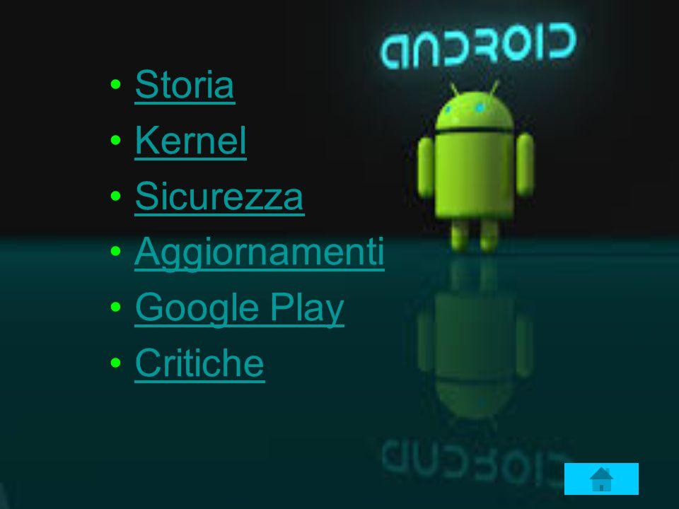Storia Kernel Sicurezza Aggiornamenti Google Play Critiche