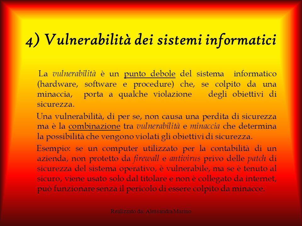 4) Vulnerabilità dei sistemi informatici