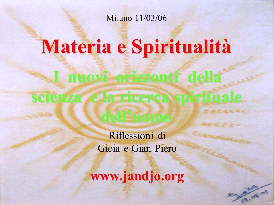 Riflessioni di Gioia e Gian Piero www.jandjo.org
