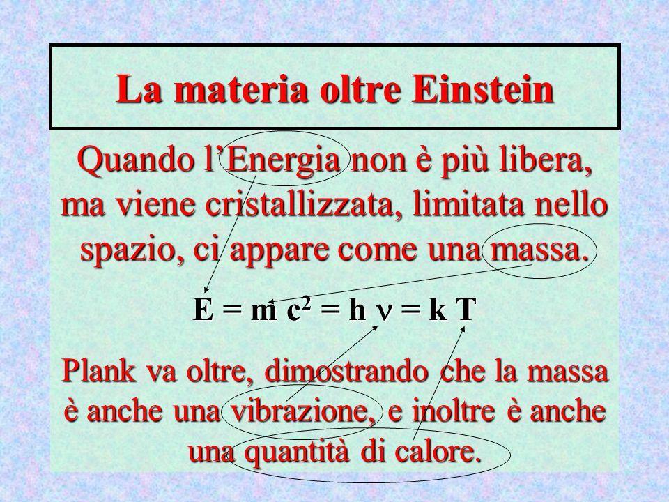 La materia oltre Einstein