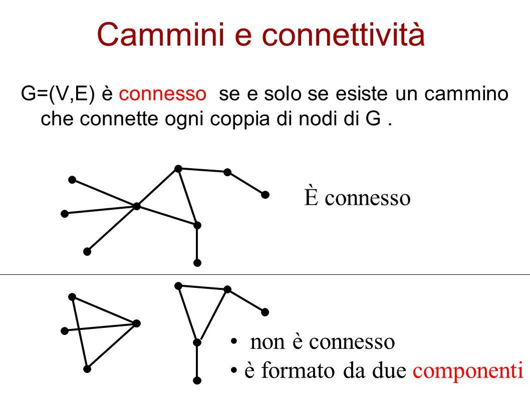Cammini e connettività