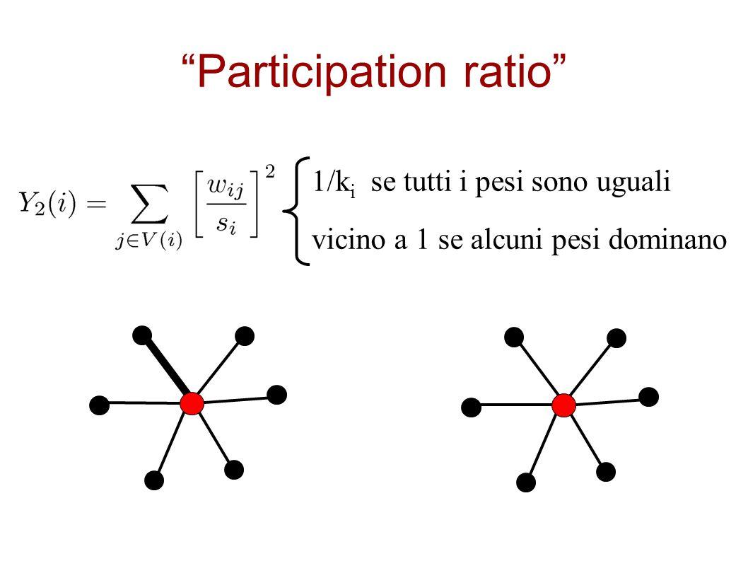 Participation ratio