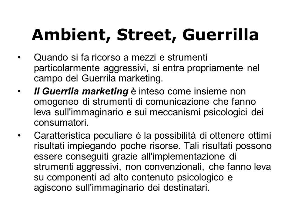 Ambient, Street, Guerrilla