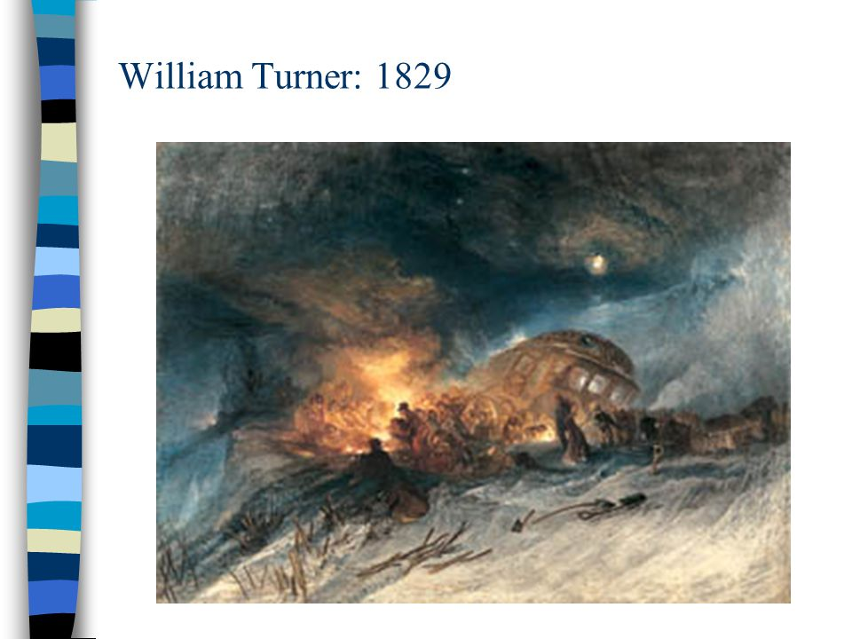 William Turner: 1829