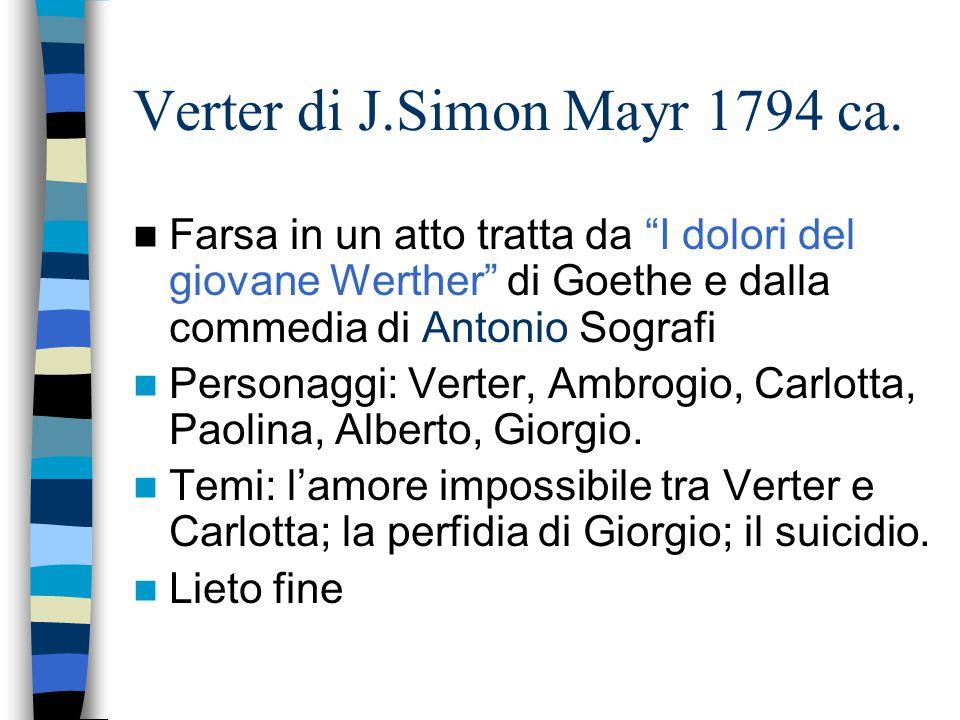 Verter di J.Simon Mayr 1794 ca.