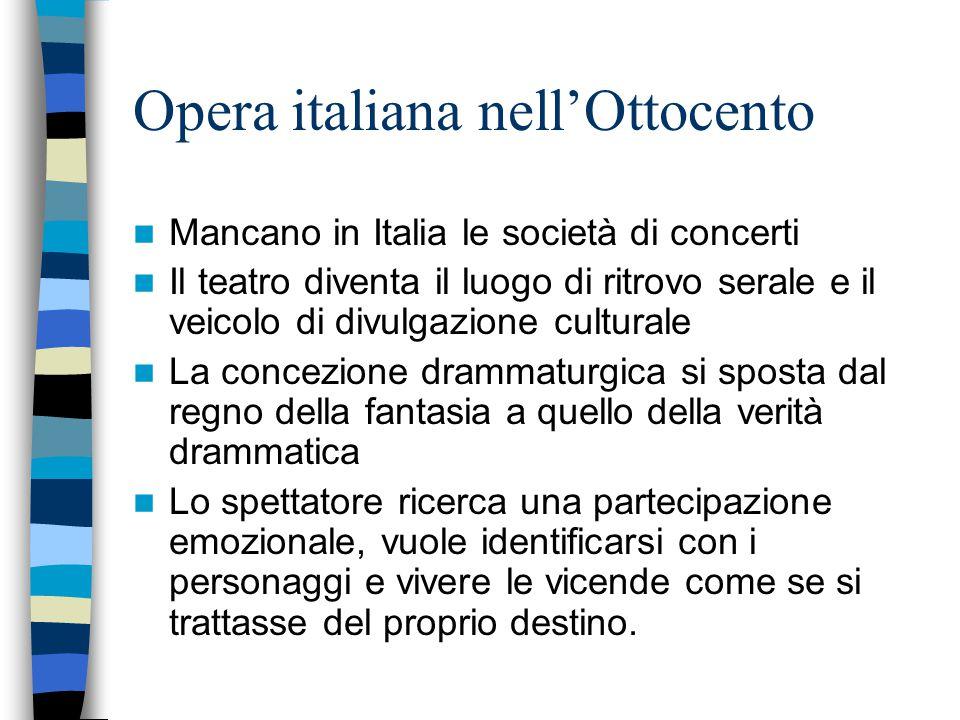 Opera italiana nell'Ottocento