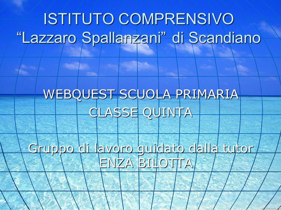 ISTITUTO COMPRENSIVO Lazzaro Spallanzani di Scandiano