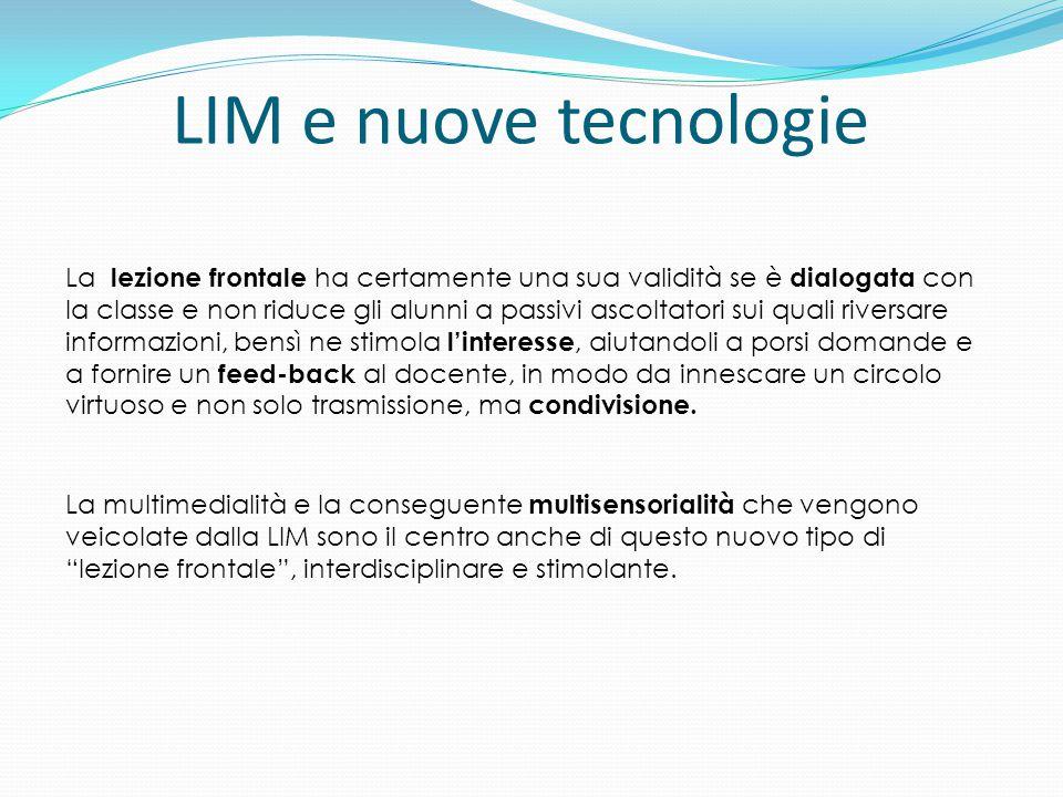 LIM e nuove tecnologie