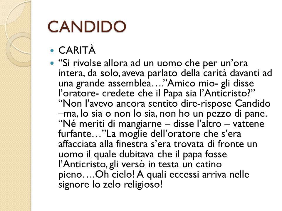CANDIDO CARITÀ.