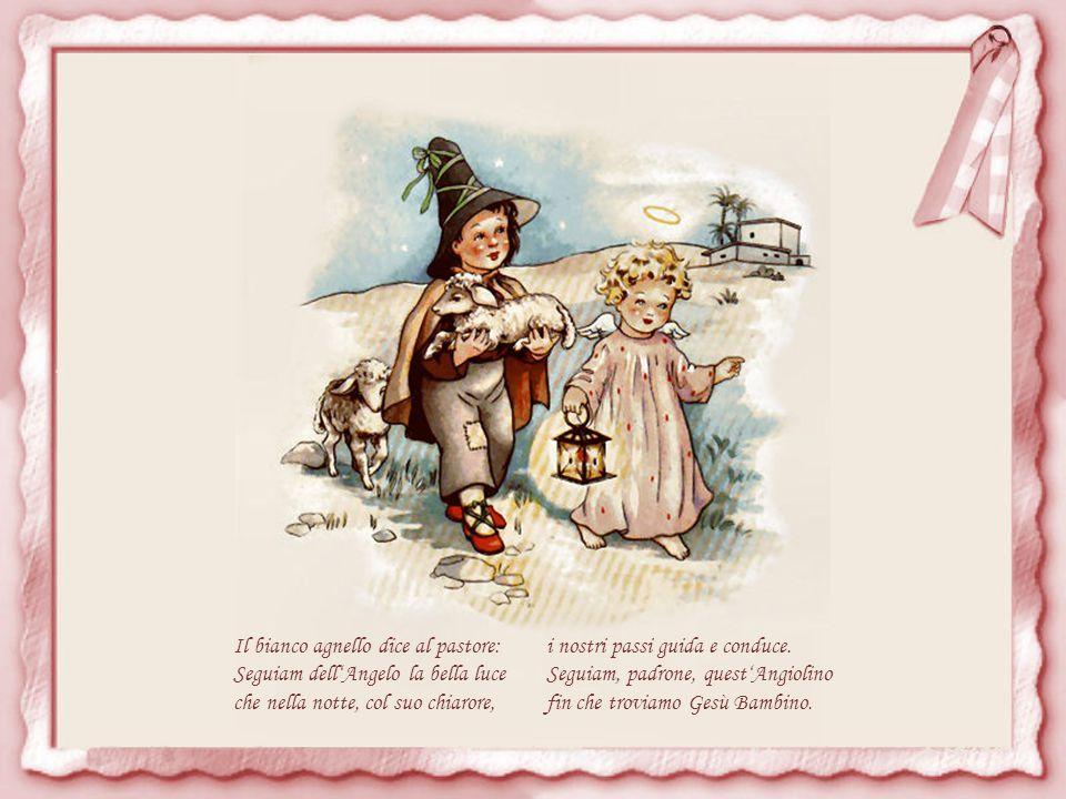 Il bianco agnello dice al pastore: