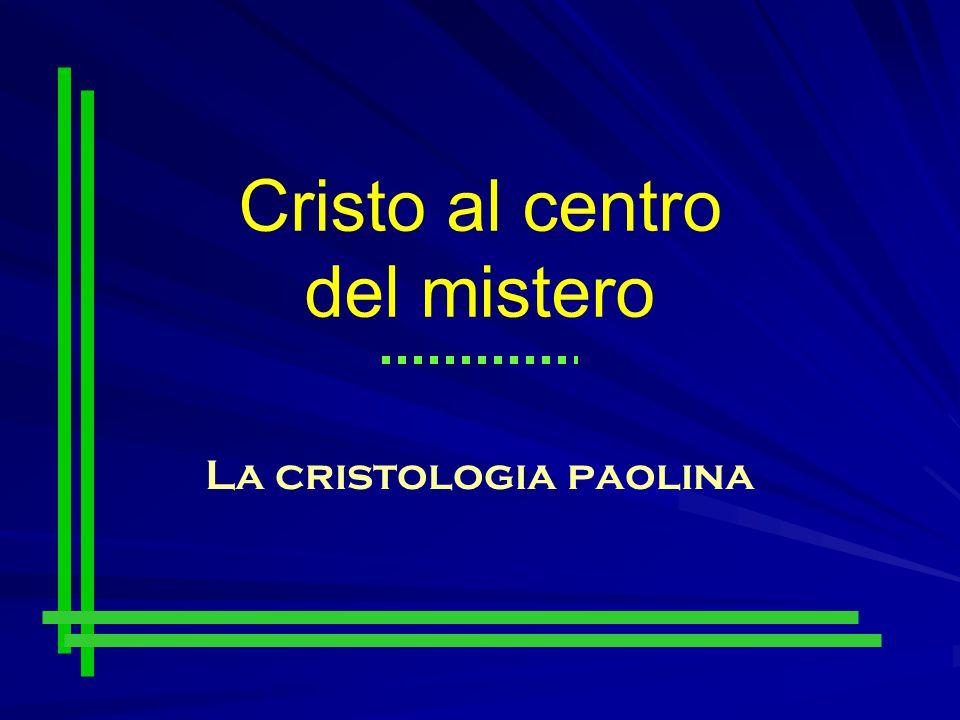 La cristologia paolina