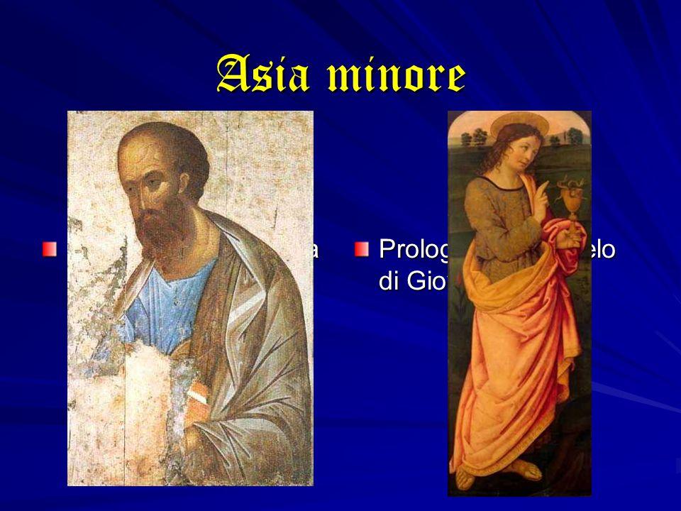 Asia minore Inno cristologico della Lettera ai Colossesi