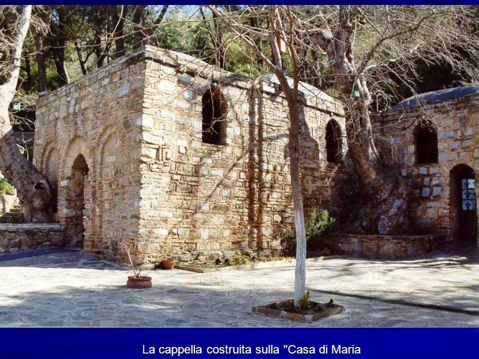 La cappella costruita sulla Casa di Maria